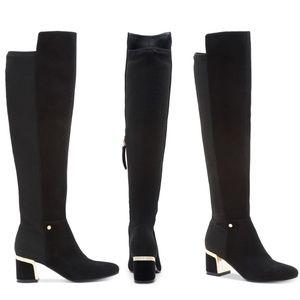 c4600123653 DKNY Shoes - DKNY Cora Knee Boots size 9